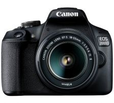 Canon Eos 2000D EF-S 18-55mm IS II Camera