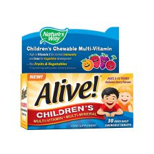 Alive! Children'S Chewable 30 Once Daily Tablets