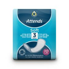 Attends Incontinence Pads Level3 Extra (10 Pack)