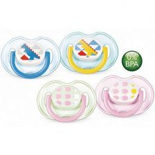 Avent Soother Fashion 0-6M