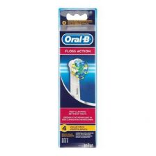Braun Oral-B Eb25 Floss Action Rechargeable Toothbrush Replacement Heads (2)