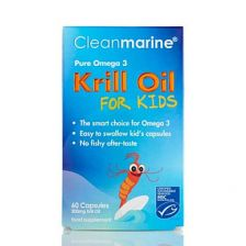 Clean Marine Krill Oil For Kids Twin Pack