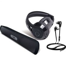 Coby Bluetooth Gift Pack - Black