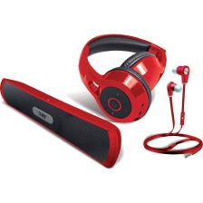 Coby Bluetooth Gift Pack - Red