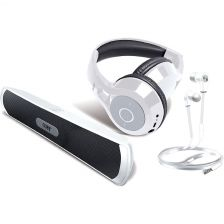 Coby Bluetooth Gift Pack - White