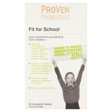 ProVen Probiotics For School With Vitamin C - 30 Chewable Tablets